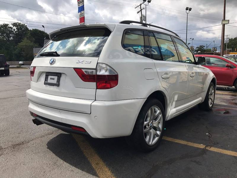 2007 BMW X3 for sale at TRADEWINDS MOTOR CENTER LLC in Cleveland OH