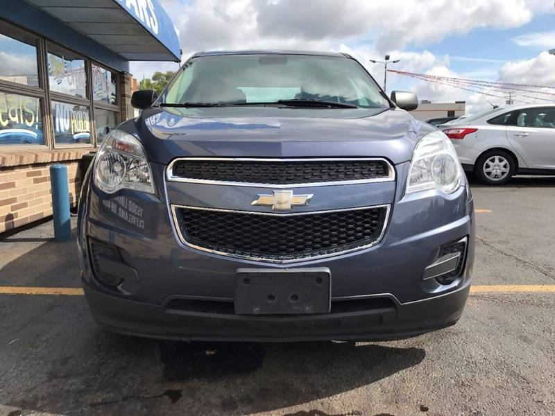 2013 Chevrolet Equinox for sale at TRADEWINDS MOTOR CENTER LLC in Cleveland OH