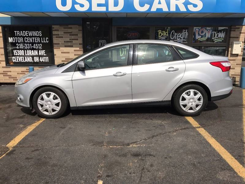 2012 Ford Focus for sale at TRADEWINDS MOTOR CENTER LLC in Cleveland OH