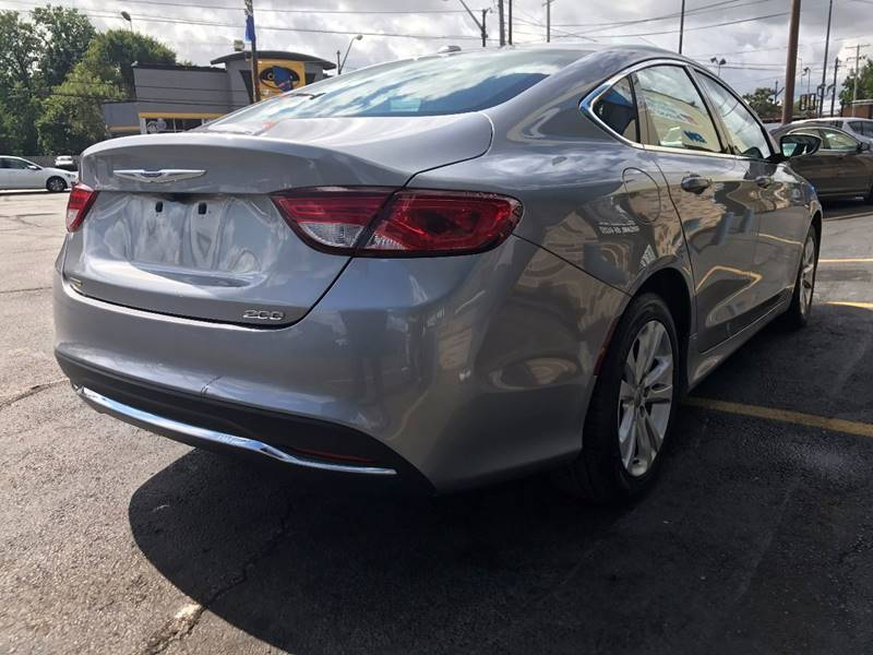 2015 Chrysler 200 for sale at TRADEWINDS MOTOR CENTER LLC in Cleveland OH