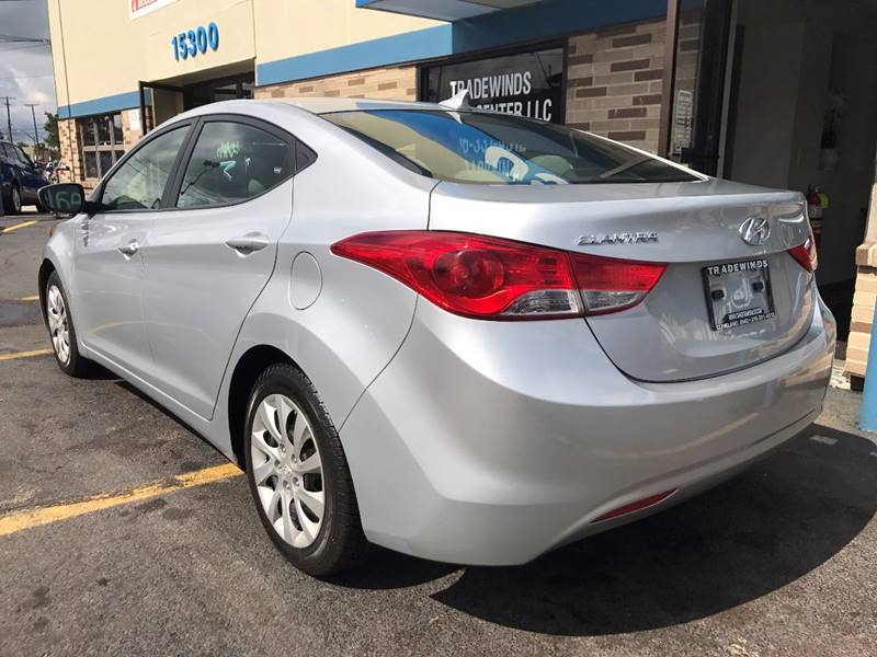 2011 Hyundai Elantra for sale at TRADEWINDS MOTOR CENTER LLC in Cleveland OH
