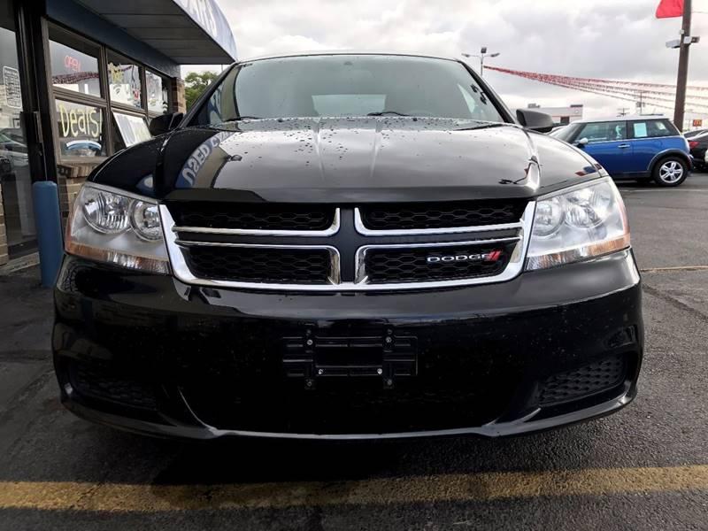 2013 Dodge Avenger for sale at TRADEWINDS MOTOR CENTER LLC in Cleveland OH