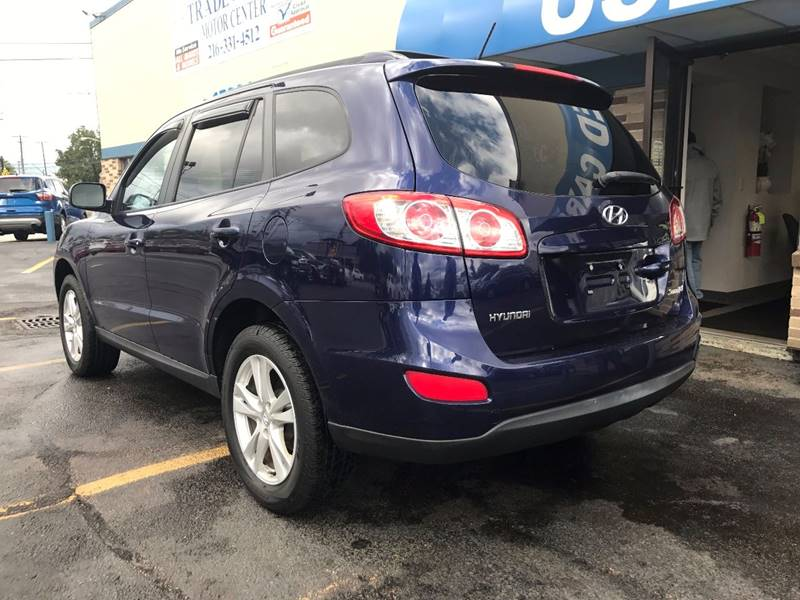 2010 Hyundai Santa Fe for sale at TRADEWINDS MOTOR CENTER LLC in Cleveland OH