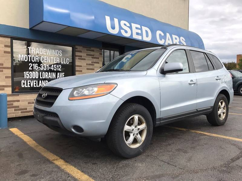2008 Hyundai Santa Fe for sale at TRADEWINDS MOTOR CENTER LLC in Cleveland OH