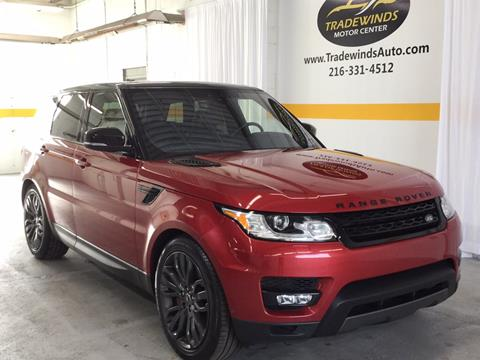 2017 Land Rover Range Rover Sport for sale in Cleveland, OH