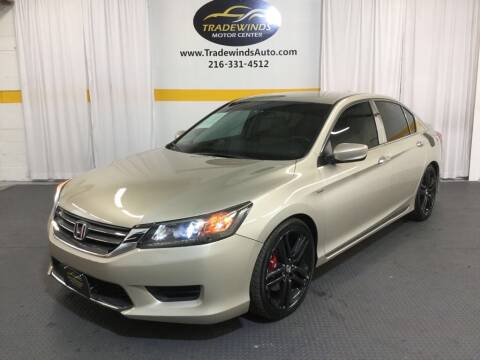 2014 Honda Accord LX for sale at Cleveland Auto Loan DBA: Tradewinds Motors LLC in Cleveland OH