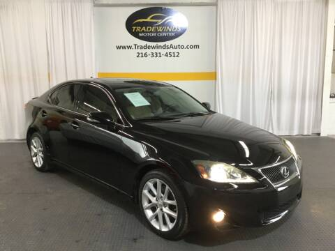 2013 Lexus IS 250 for sale at Cleveland Auto Loan DBA: Tradewinds Motors LLC in Cleveland OH