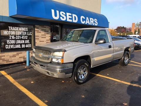 2004 Chevrolet Silverado 1500 for sale at TRADEWINDS MOTOR CENTER LLC in Cleveland OH