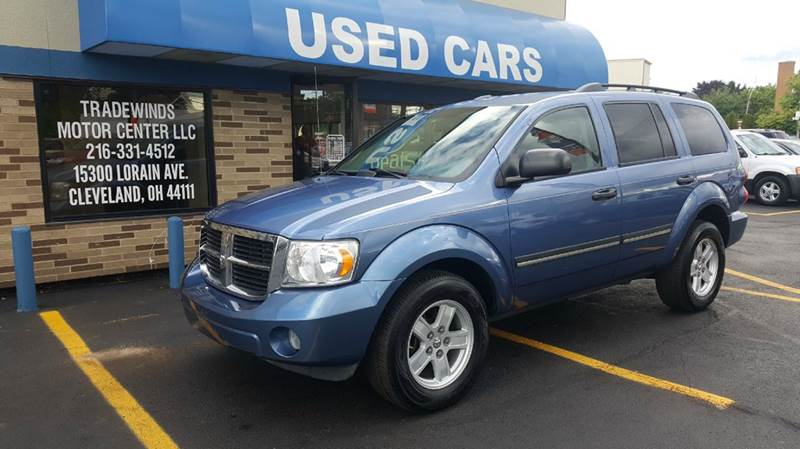 2008 Dodge Durango for sale at TRADEWINDS MOTOR CENTER LLC in Cleveland OH