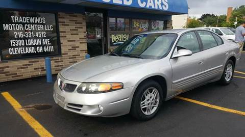 2005 Pontiac Bonneville for sale at TRADEWINDS MOTOR CENTER LLC in Cleveland OH