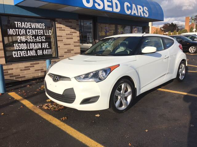 2012 Hyundai Veloster for sale at TRADEWINDS MOTOR CENTER LLC in Cleveland OH