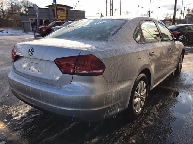 2012 Volkswagen Passat for sale at TRADEWINDS MOTOR CENTER LLC in Cleveland OH