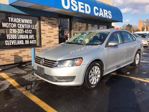 2012 Volkswagen Passat for sale at TRADEWINDS MOTOR CENTER LLC in Cleveland OH