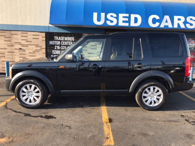 2006 Land Rover LR3 for sale at TRADEWINDS MOTOR CENTER LLC in Cleveland OH