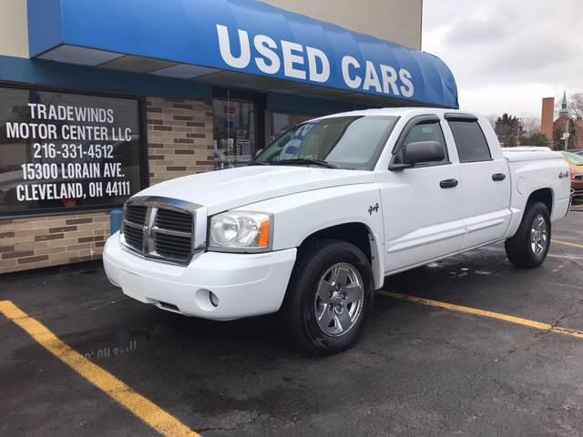 2005 Dodge Dakota for sale at TRADEWINDS MOTOR CENTER LLC in Cleveland OH