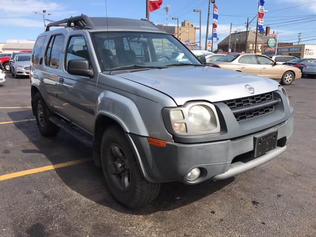 2003 Nissan Xterra for sale at TRADEWINDS MOTOR CENTER LLC in Cleveland OH
