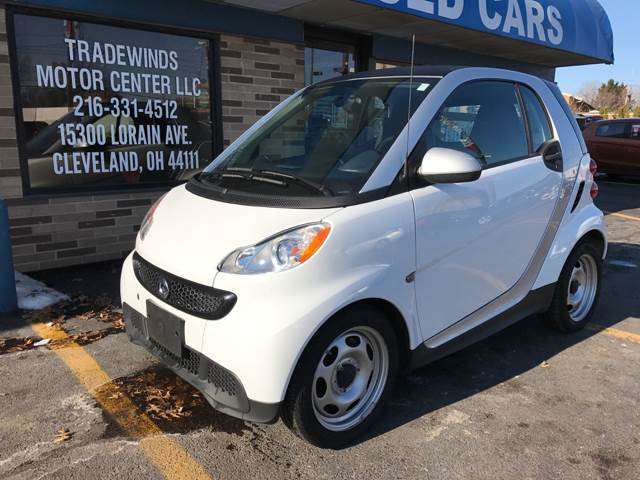 2013 Smart fortwo for sale at TRADEWINDS MOTOR CENTER LLC in Cleveland OH