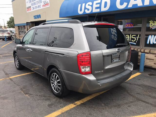 2011 Kia Sedona for sale at TRADEWINDS MOTOR CENTER LLC in Cleveland OH