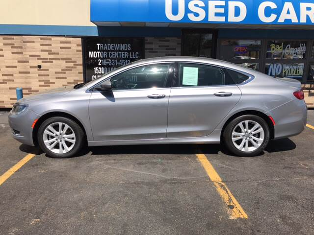 2016 Chrysler 200 for sale at TRADEWINDS MOTOR CENTER LLC in Cleveland OH