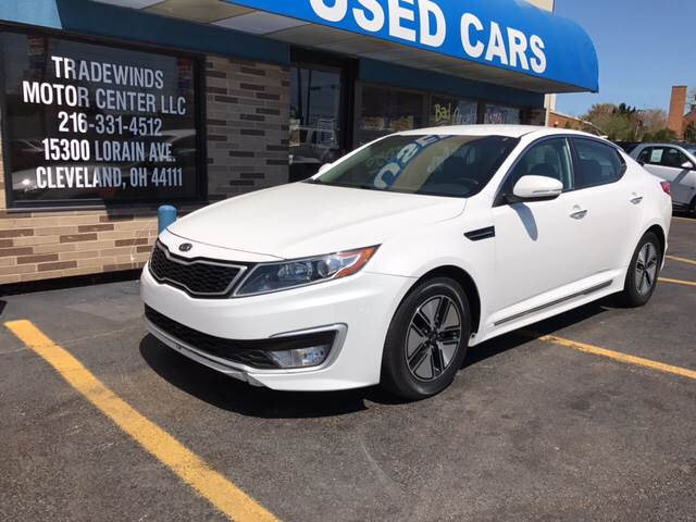 2012 Kia Optima Hybrid for sale at TRADEWINDS MOTOR CENTER LLC in Cleveland OH