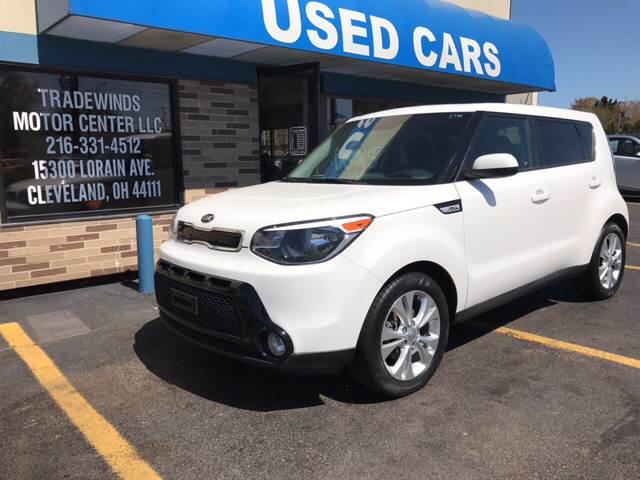 2016 Kia Soul for sale at TRADEWINDS MOTOR CENTER LLC in Cleveland OH
