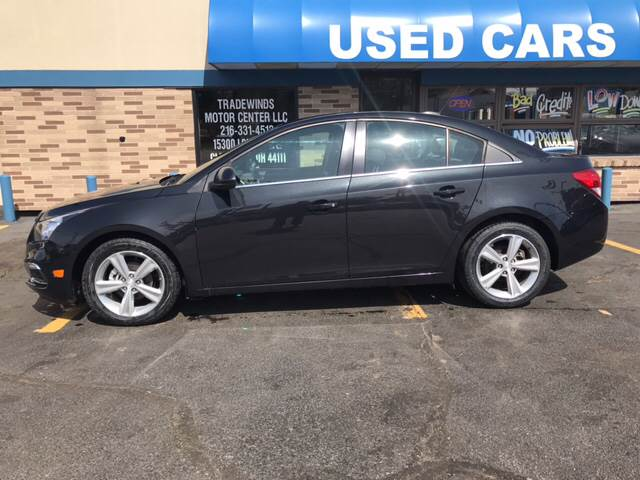 2015 Chevrolet Cruze for sale at TRADEWINDS MOTOR CENTER LLC in Cleveland OH