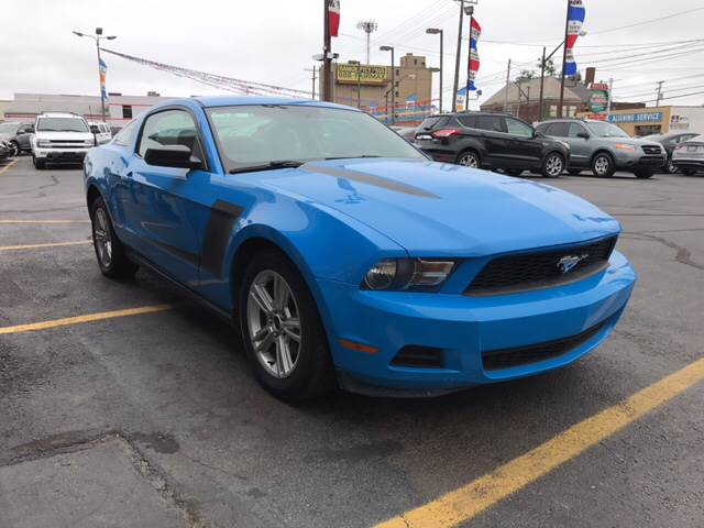 2010 Ford Mustang for sale at TRADEWINDS MOTOR CENTER LLC in Cleveland OH
