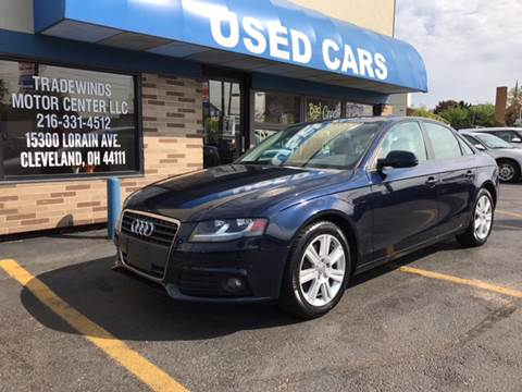 2011 Audi A4 for sale at TRADEWINDS MOTOR CENTER LLC in Cleveland OH