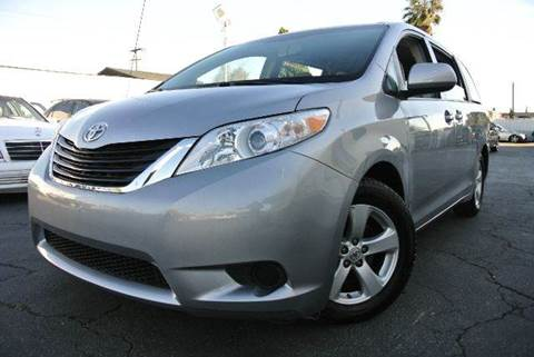 2012 Toyota Sienna for sale at New City Auto in South El Monte CA