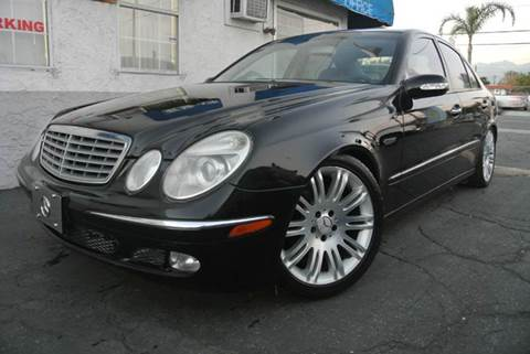 2003 Mercedes-Benz E-Class for sale at New City Auto in South El Monte CA
