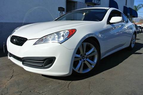2010 Hyundai Genesis Coupe for sale at New City Auto in South El Monte CA