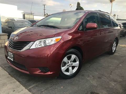 2011 Toyota Sienna for sale at New City Auto in South El Monte CA