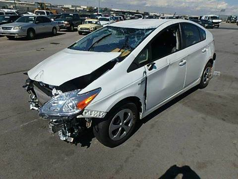 2012 Toyota Prius for sale at New City Auto - Parts in South El Monte CA