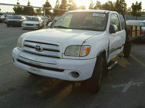 2003 Toyota Tundra for sale at New City Auto - Parts in South El Monte CA