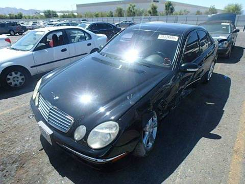 2004 Mercedes-Benz E-Class for sale at New City Auto - Parts in South El Monte CA