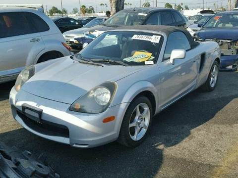 2001 Toyota MR2 Spyder for sale at New City Auto - Parts in South El Monte CA