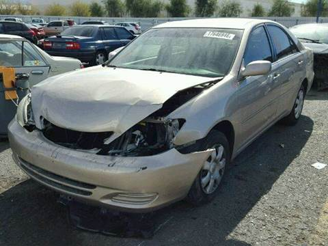 2004 Toyota Camry for sale at New City Auto - Parts in South El Monte CA