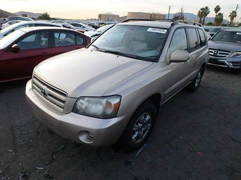 2004 Toyota Highlander for sale at New City Auto - Parts in South El Monte CA