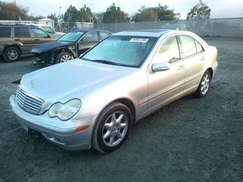 2002 Mercedes-Benz C-Class for sale at New City Auto - Parts in South El Monte CA