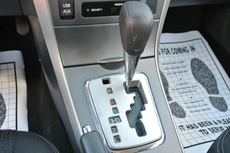 2012 Toyota Corolla S 4dr Sedan 4A - South El Monte CA