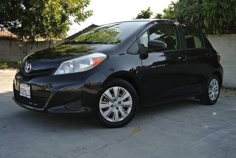 2012 Toyota Yaris for sale at New City Auto - Retail Inventory in South El Monte CA