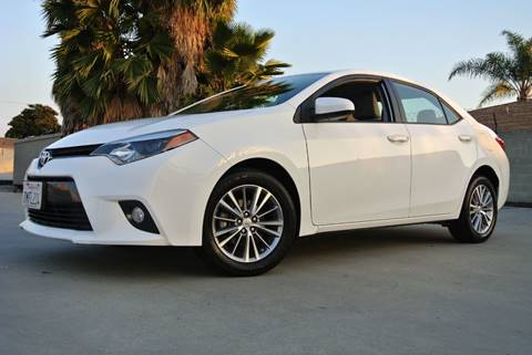 2015 Toyota Corolla for sale at New City Auto - Retail Inventory in South El Monte CA