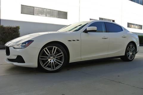 2015 Maserati Ghibli for sale at New City Auto - Retail Inventory in South El Monte CA