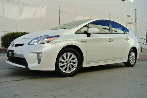 2014 Toyota Prius Plug-in Hybrid for sale at New City Auto - Retail Inventory in South El Monte CA