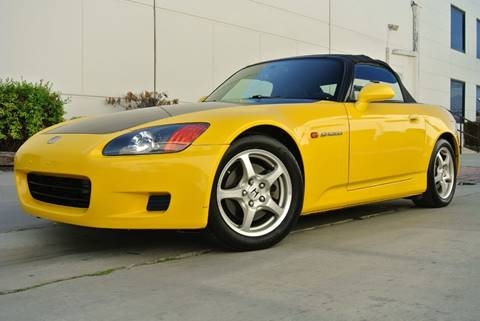 2002 Honda S2000 for sale at New City Auto - Retail Inventory in South El Monte CA