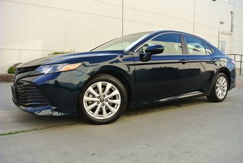 2018 Toyota Camry for sale at New City Auto - Retail Inventory in South El Monte CA