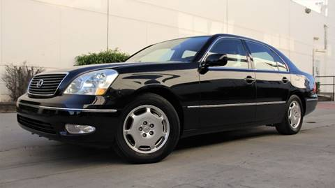 2002 Lexus LS 430 for sale at New City Auto - Retail Inventory in South El Monte CA