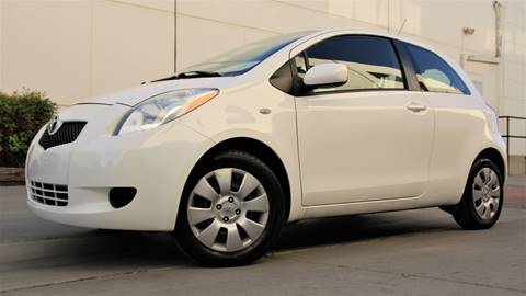 2008 Toyota Yaris for sale at New City Auto - Retail Inventory in South El Monte CA