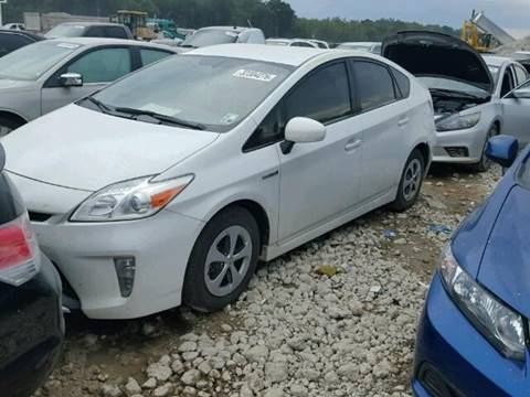 2015 Toyota Prius for sale at New City Auto - Parts in South El Monte CA