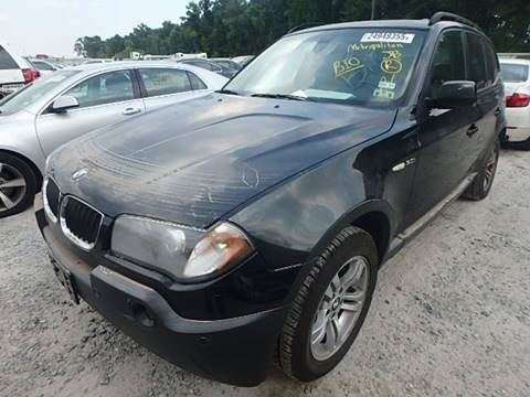 2005 BMW X3 for sale at New City Auto - Parts in South El Monte CA